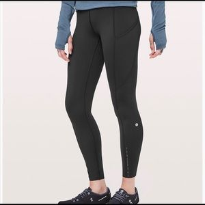 Lululemon fast and free tight size 4